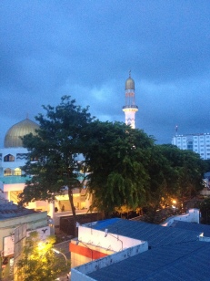 Main Mosque Male night time